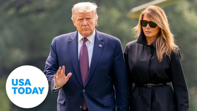 President Trump and First Lady Melania Trump test positive for COVID-19 | USA TODAY 1