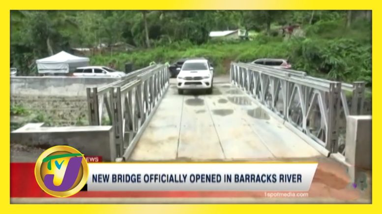 New Bridge Officially Opened in Barracks River - October 22 2020 1