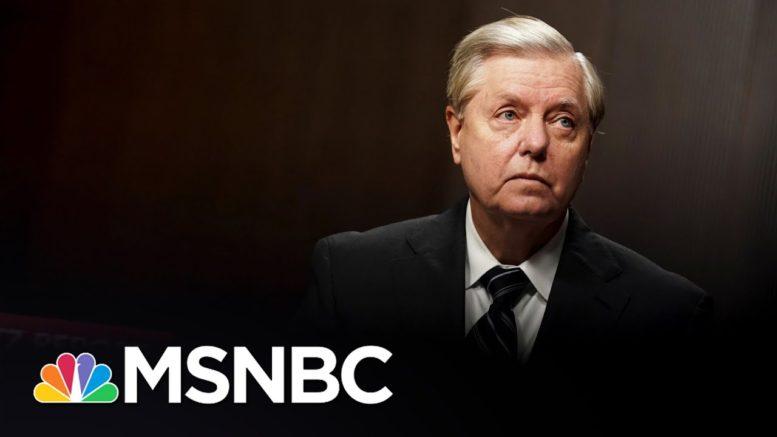 Trump Sycophant Lou Dobbs Attacks Lindsey Graham | The 11th Hour | MSNBC 1