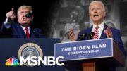 Biden Reveals Covid Plan As Trump Mocks Masks, Holds Rallies | The 11th Hour | MSNBC 5