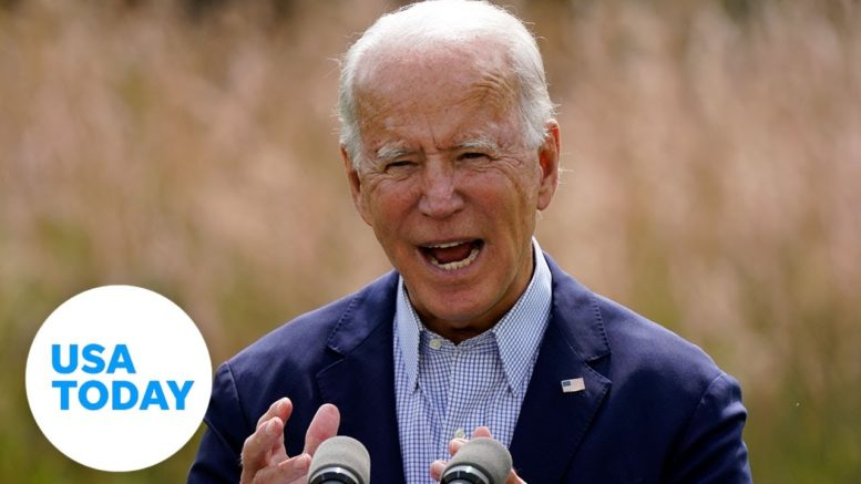 Joe Biden delivers remarks on masks in Michigan | USA TODAY 1
