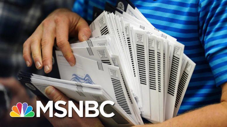 Trump-Damaged Postal Service Still Lagging In Key States Raising Mail-In Ballot Concerns 1
