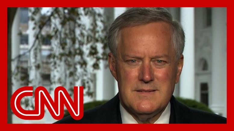 Mark Meadows: We're not going to control the pandemic 1