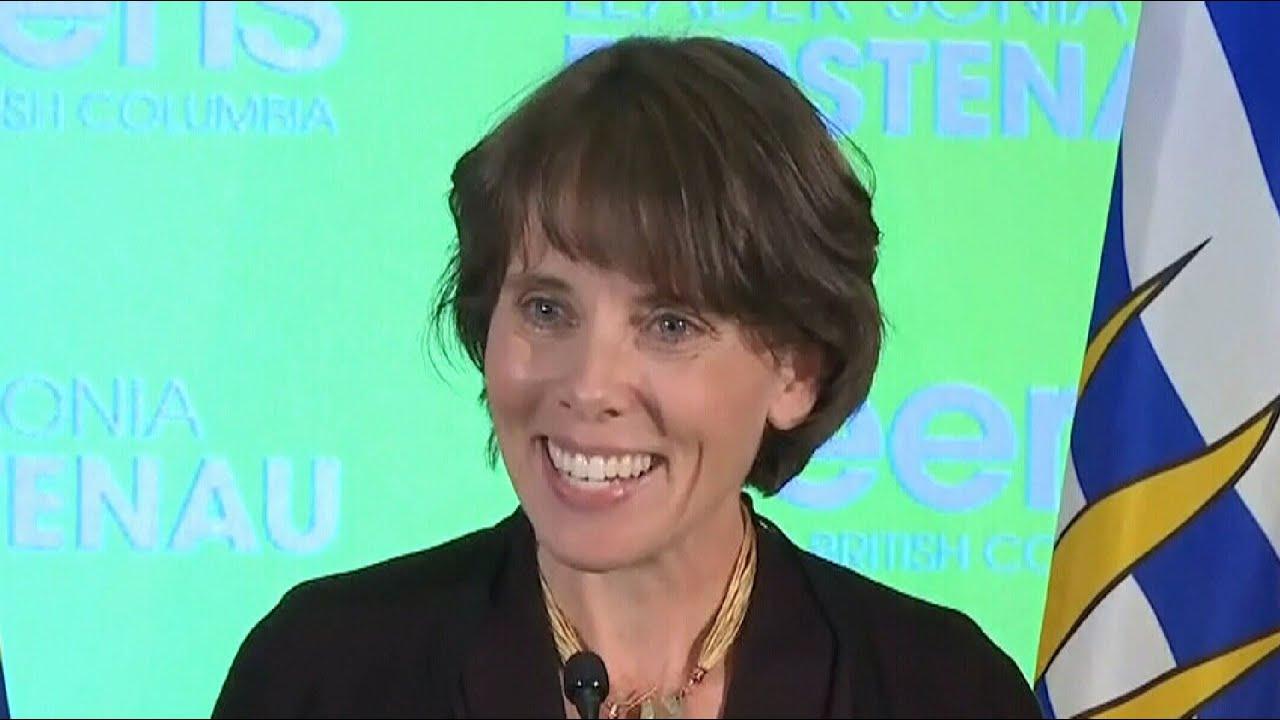 B.C. Green Leader Sonia Furstenau thanks supporters in speech 3
