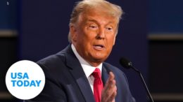 President Trump defends immigration policies, bashes Biden at final debate | USA TODAY 1