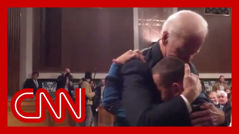 Parkland victim's wife and son reflect on viral 2018 hug from Joe Biden 1