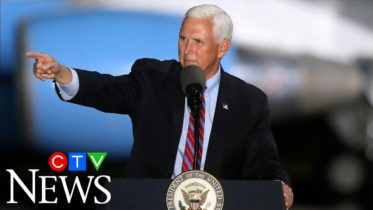 Pence continues campaigning despite COVID-19 outbreak in his inner circle 6