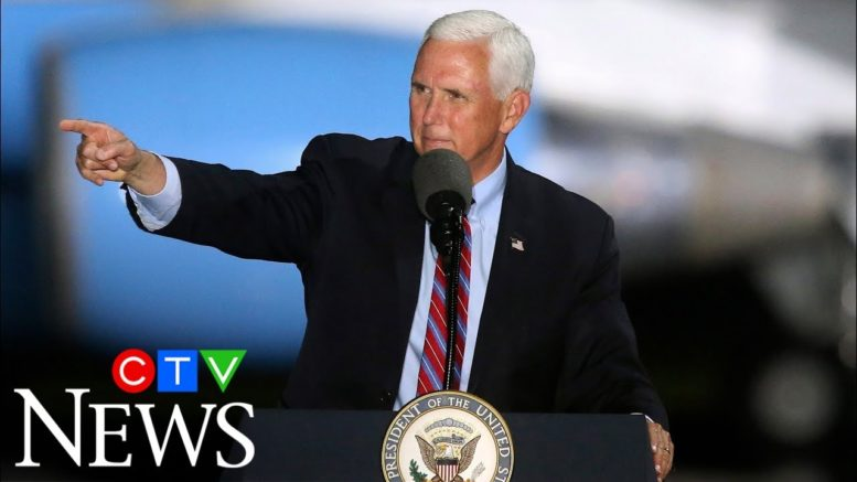 Pence continues campaigning despite COVID-19 outbreak in his inner circle 1