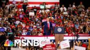 Trump Held Weekend Rallies, Said US Was Rounding Corner | Morning Joe | MSNBC 4