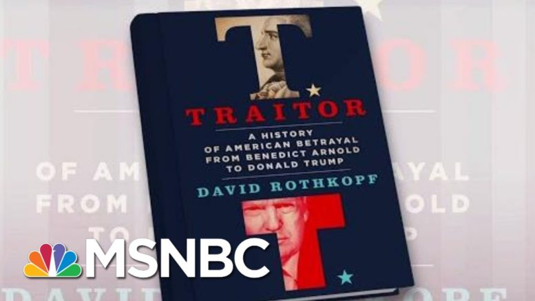 'Has He Upheld His Oath Of Office?,' Author Asks About Trump | Morning Joe | MSNBC 1