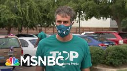 Democratic Organizers Canvassing With Hope To Turn Out New Voters In Texas | Andrea Mitchell | MSNBC 6