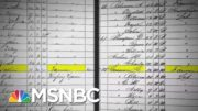 Simone Boyce Learns About Her Past And The Story Of Her Great-Great-Great Grandmother | MSNBC 4