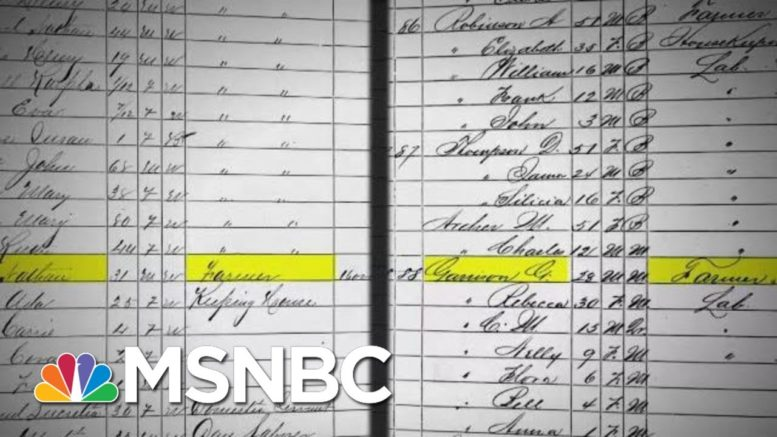 Simone Boyce Learns About Her Past And The Story Of Her Great-Great-Great Grandmother | MSNBC 1