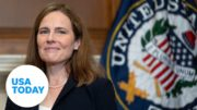 Judge Amy Coney Barrett takes the official Constitutional Oath for SCOTUS | USA TODAY 4