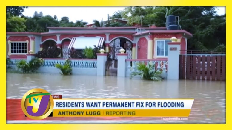 Residents want Permanent Fix for Flooding - October 24 2020 1