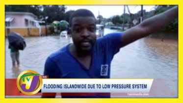 Flooding Islandwide Due to Low Pressure System - October 25 2020 6