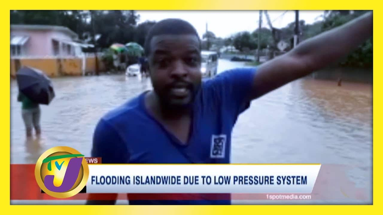 Flooding Islandwide Due to Low Pressure System - October 25 2020 1