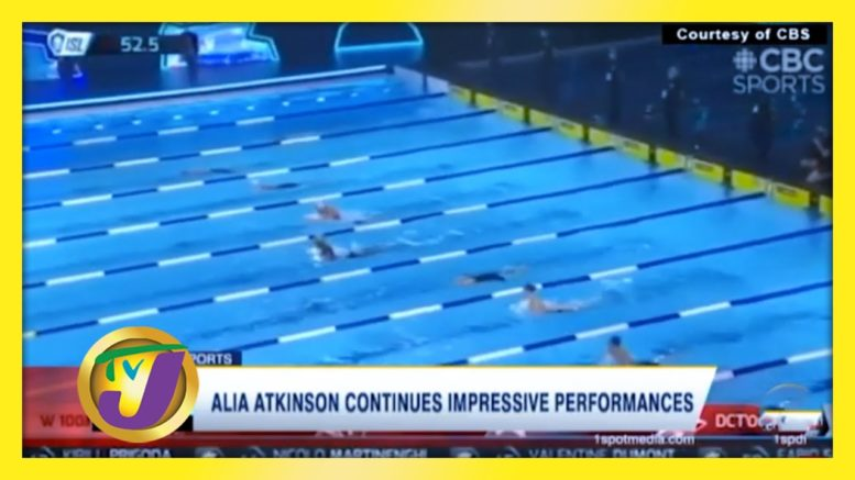 Alia Atkinson Continues Impressive Performances - October 25 2020 1