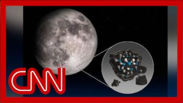 NASA mission finds water on the sunlit surface of the moon 6