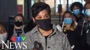 Liberal MP-elect Marci Ien speaks after winning Toronto Centre byelection 3