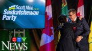 Watch Saskatchewan Premier Scott Moe's victory speech 3