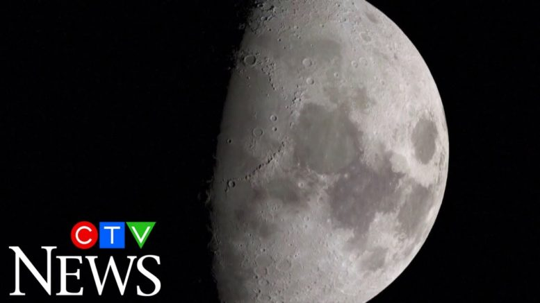 NASA studies discover more water on the moon's surface 1