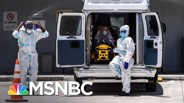 New Covid-19 Surge Takes Emotional Toll On Frontline Workers | The 11th Hour | MSNBC 1