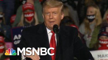 Trump Continues Holding Rallies As Virus Cases Surge | Morning Joe | MSNBC 10