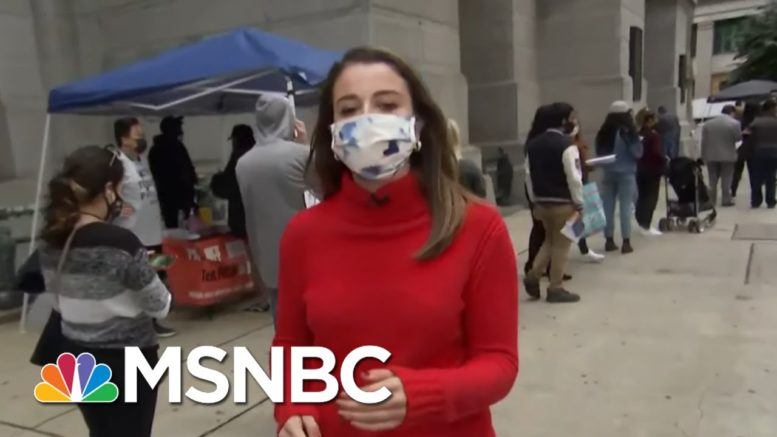 Early Voters Motivated As They Wait In Line In Philadelphia | Stephanie Ruhle | MSNBC 1