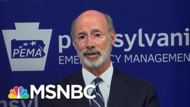 PA Gov. Responds To Trump's Attacks: Pennsylvania Has Been Open For Months | Katy Tur | MSNBC 2