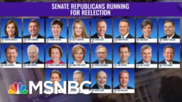 Payback Is A Voter: Here Are The Republican Senators Up For Re-Election In Close Races | The ReidOut 4