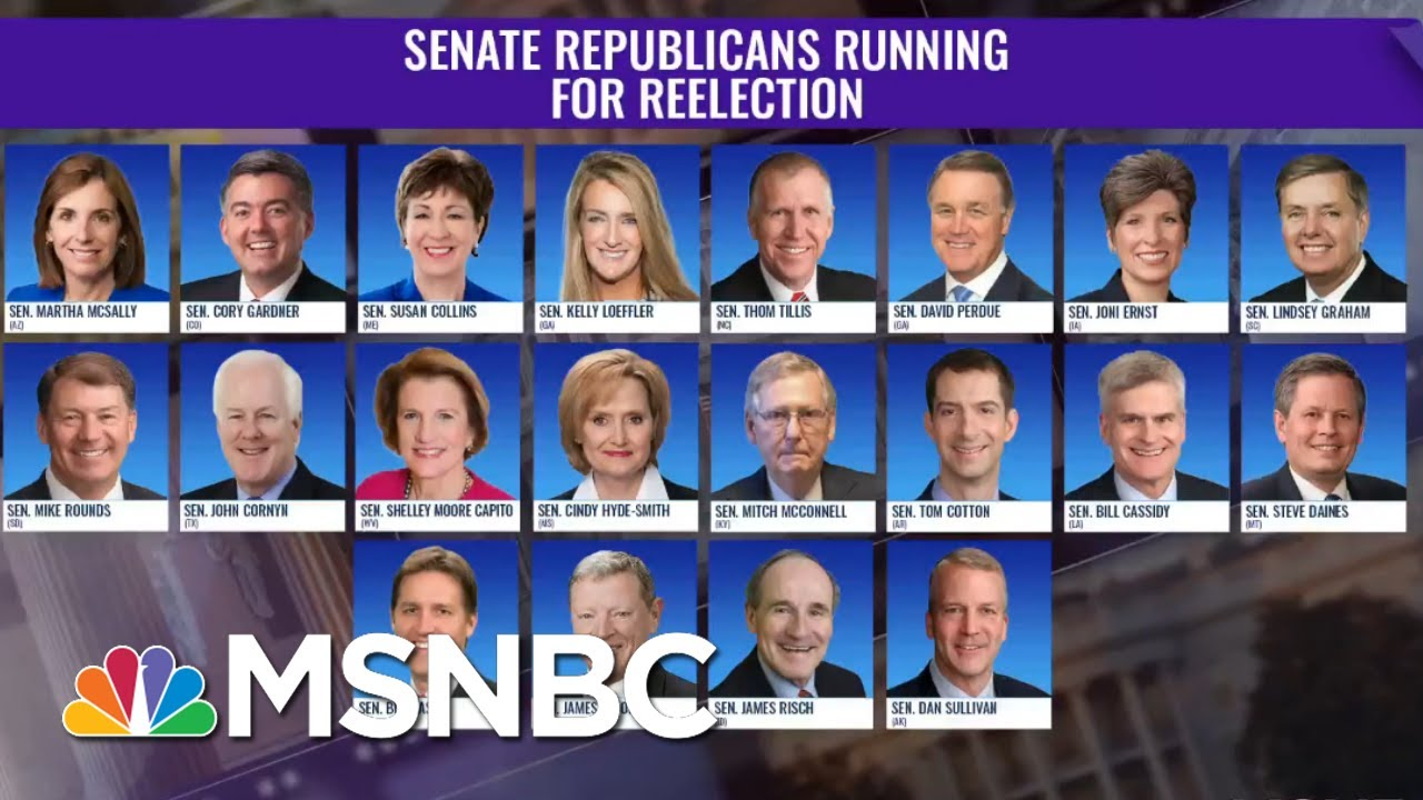 Payback Is A Voter: Here Are The Republican Senators Up For Re-Election In Close Races | The ReidOut 6