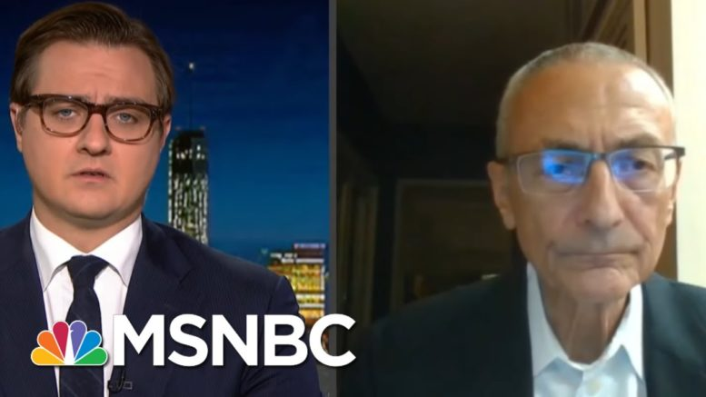 Clinton Campaign Manager Says He Is 'Nervous, But Hopeful' About Election | All In | MSNBC 1