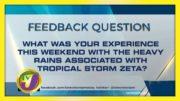 TVJ News: Feedback Question - October 26 2020 2