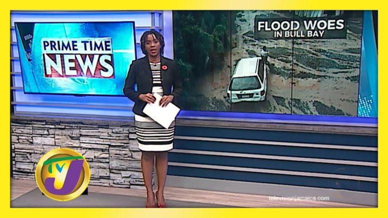 Flooding in 9 Miles, Bull Bay - October 26 2020 1