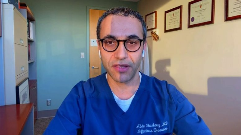 """Have to be very realistic"": Dr. Sharkawy on COVID-19 pandemic messaging 1"