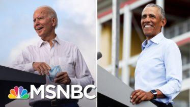 Biden And Obama Blast 'Con Man' Trump For Covid-19 Response | The 11th Hour | MSNBC 6