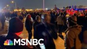 Trump Supporters Left In Cold Following Omaha Rally   Morning Joe   MSNBC 3