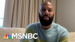 Common: I'm Seeing Young People Inspired To Vote | Morning Joe | MSNBC 3
