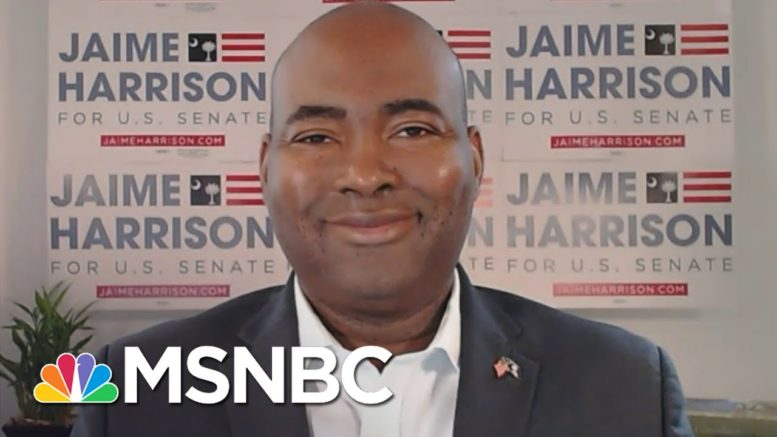 Jaime Harrison: 'Hope Is Coming Back To South Carolina.' | Craig Melvin | MSNBC 1