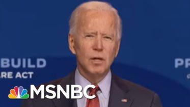 Biden Slams Trump For Holding Rallies Amid Pandemic | MSNBC 6