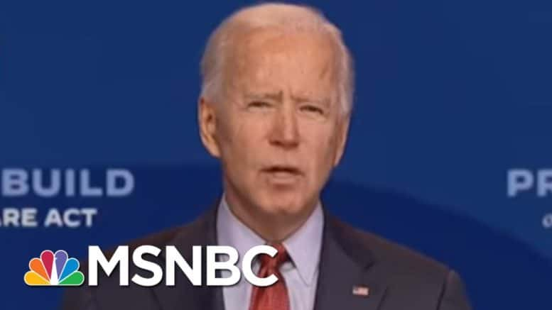 Biden Slams Trump For Holding Rallies Amid Pandemic | MSNBC 1