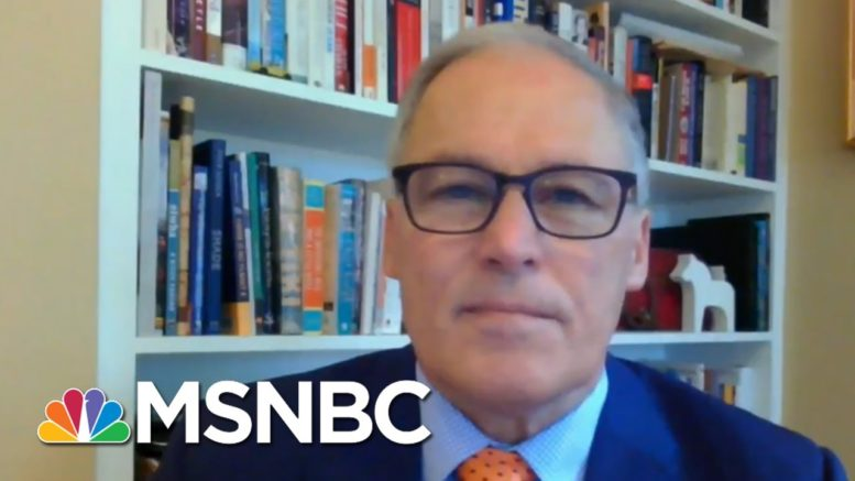 Gov. Inslee: Biden's Plan To Fight Global Warning Is 'Appropriately Ambitious' | Andrea Mitchell 1