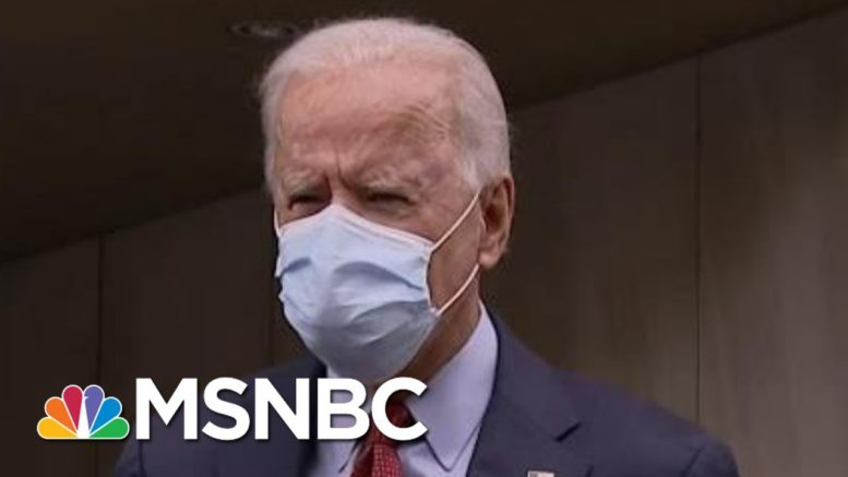 Biden Takes Questions After Casting Ballot In Delaware | MTP Daily | MSNBC 1