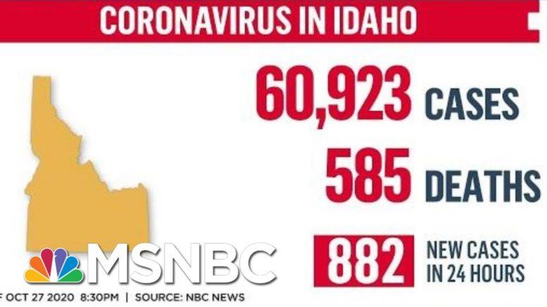 Idaho Hospitals Near Capacity As Covid-19 Cases Surge | MTP Daily | MSNBC 1