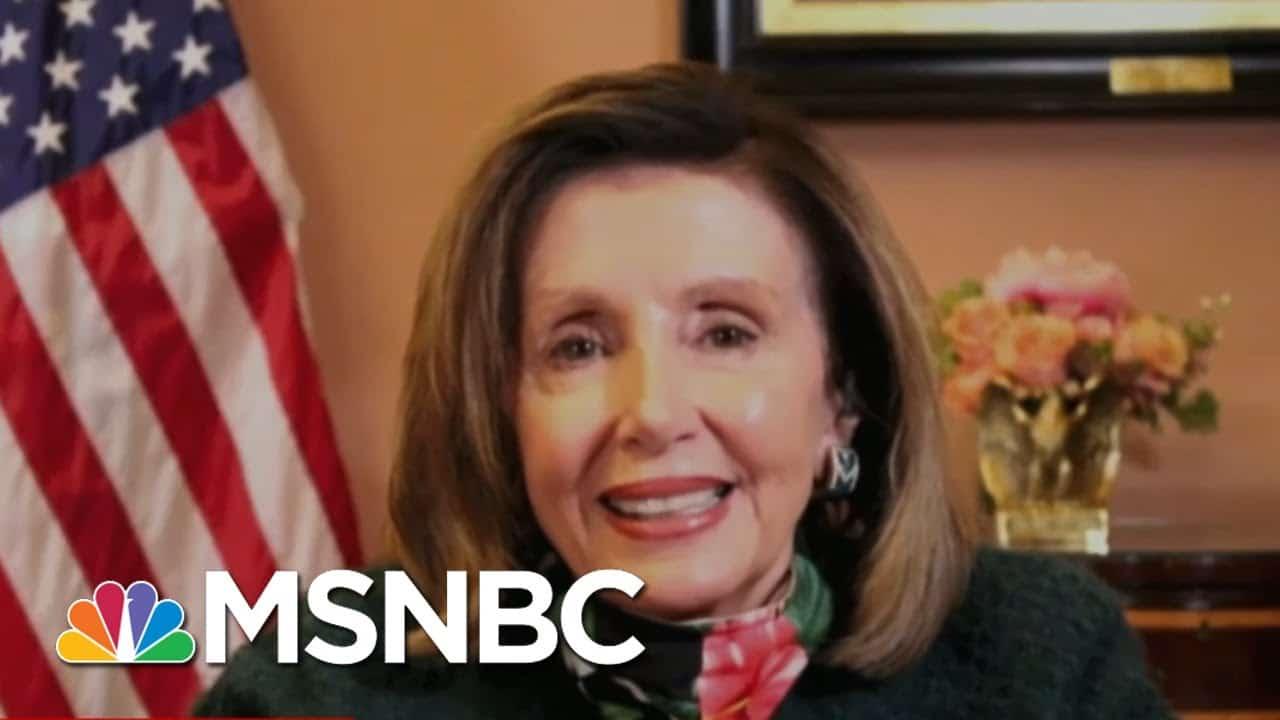 Speaker Nancy Pelosi: He Should Not Compare Himself To Lyndon B. Johnson | Ayman Mohyeldin | MSNBC 5
