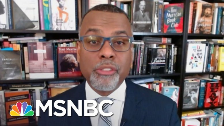 Eddie Glaude: Covid Has Intersected With 'Liberty And Freedom' | Deadline | MSNBC 1