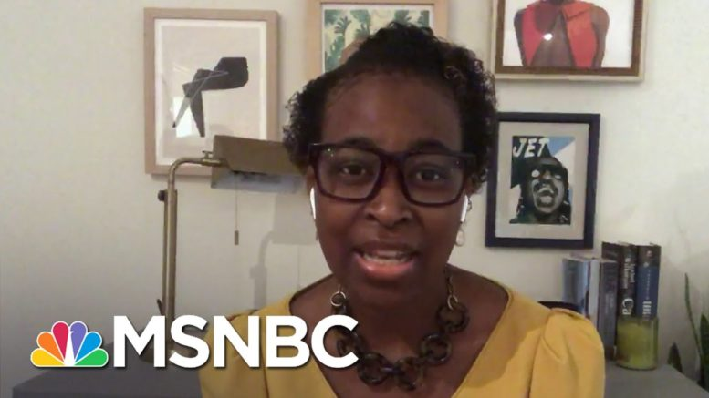Errin Haines: 'The Threat Of Voter Suppression Is Very Real, It Is Very Present' | Deadline | MSNBC 1