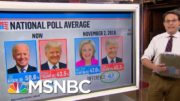 Steve Kornacki: There's 'Still Time' For A Trump Comeback In The Closing Days | The ReidOut | MSNBC 4