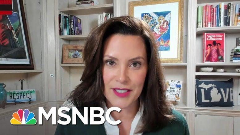 Gov. Whitmer: When Trump Focuses On Me, The 'Violent Rhetoric' Increases | All In | MSNBC 1